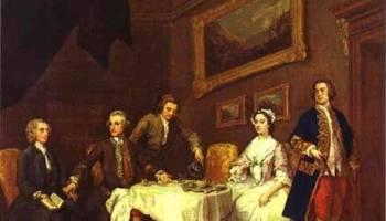 The Strode Family, William Hogarth – Baroque