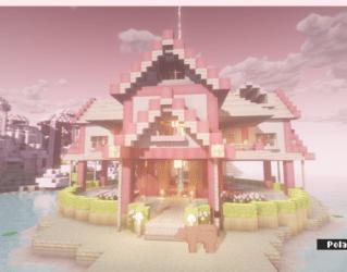 minecraft pastel pack kawaii bsl houses tales shader reblog