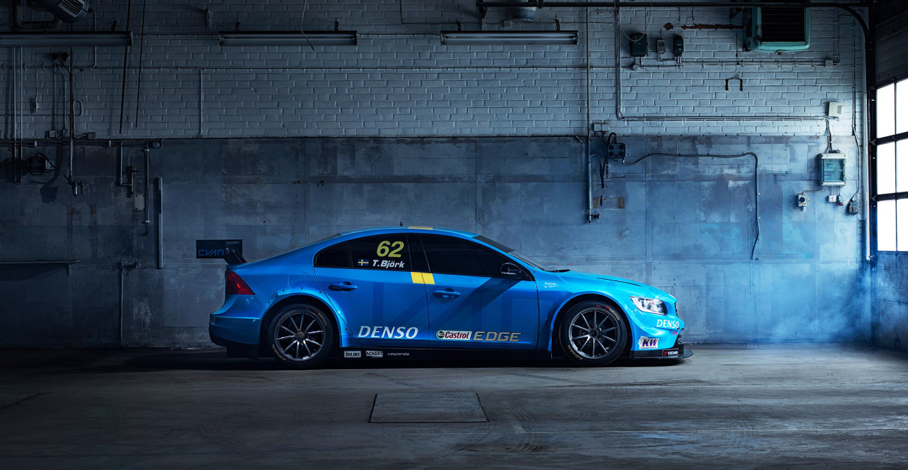 It Racing The Volvo S60 Polestar Tc1 Race Car