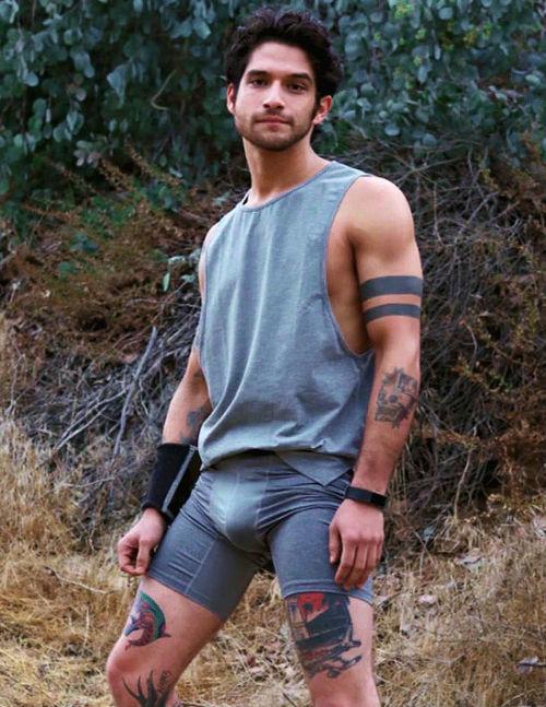 Tyler Posey Tattoos Band