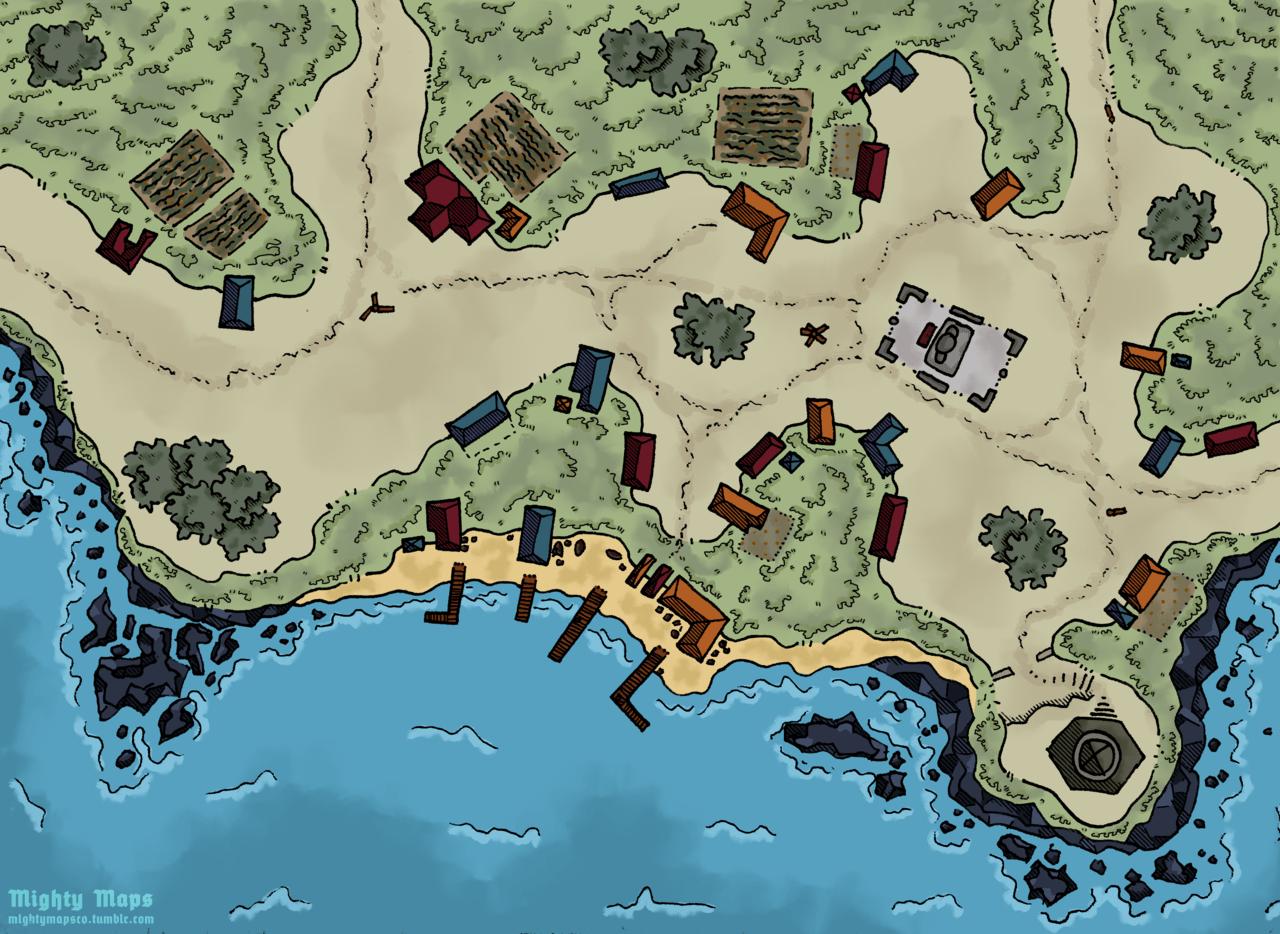 Dd Town Map