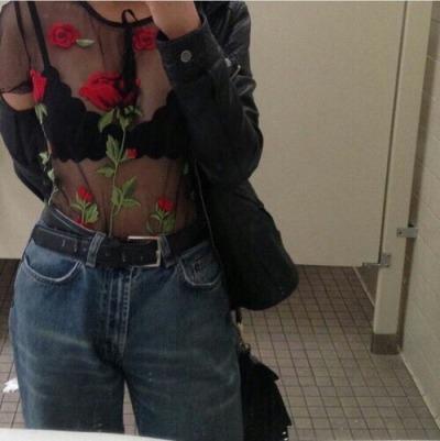 hipster jean jacket tumblr