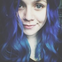 crazy colored hair on Tumblr