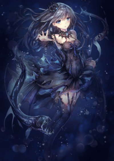 anime gothic girl tumblr