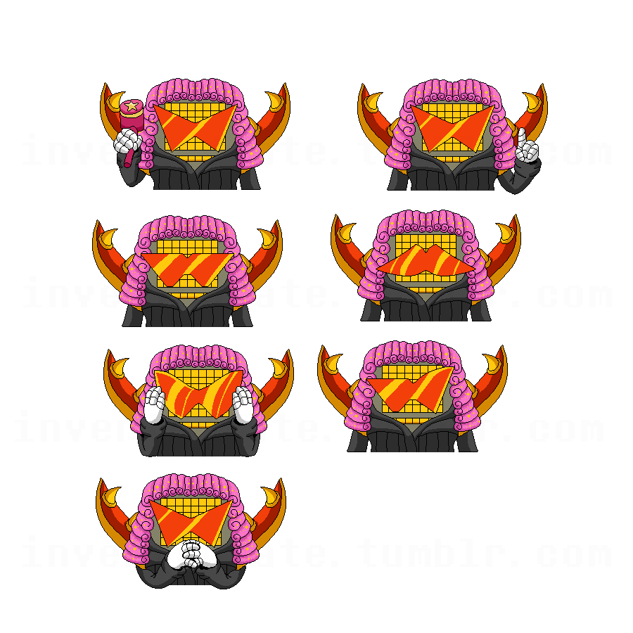 Undertale Mettaton Sprite Box