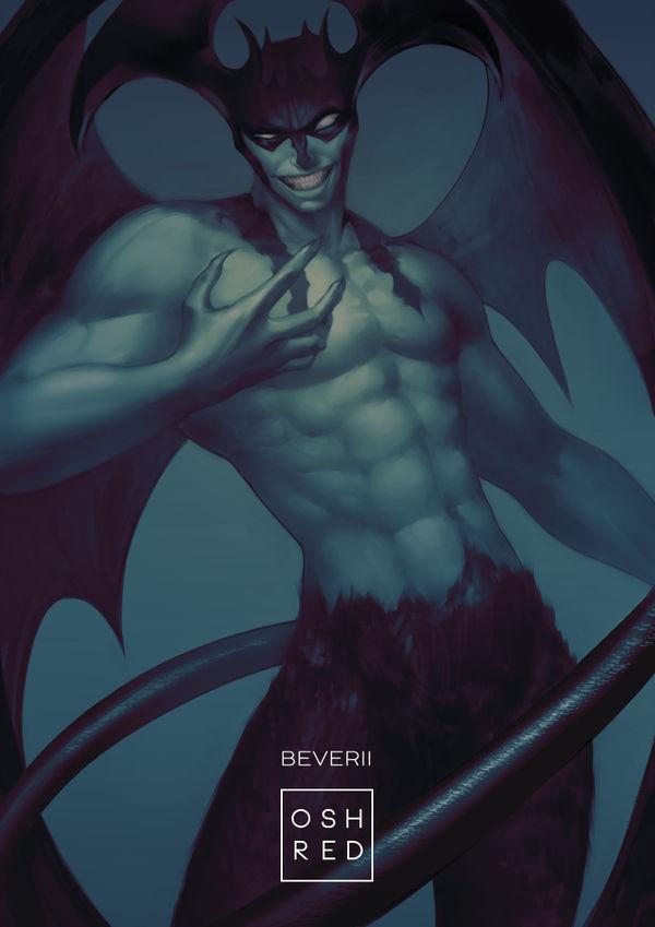 deviantart collab devilman by