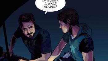 a good irondad spiderson fic is 'the dark… – Iron Man