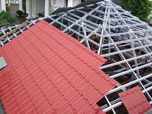 jenis atap rumah baja ringan rangka kanopi