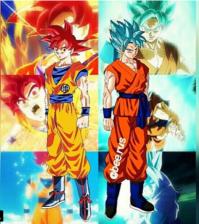 love Anime  Super Saiyan God and Super Saiyan God Super...