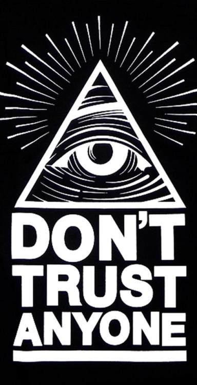 Gravity Falls Wallpaper Trust No One Illuminati Wallpaper Tumblr