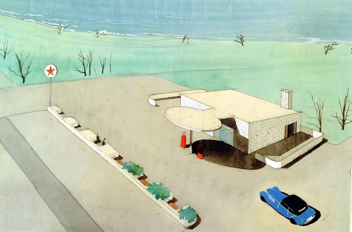 Design is fine History is mine  Arne Jacobsen Texaco