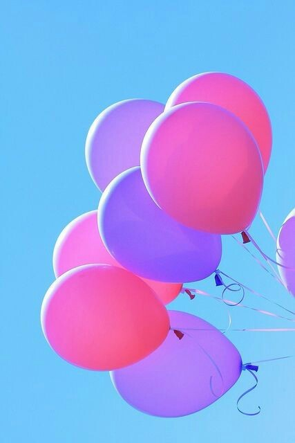 Girl Boy Cute Wallpaper Baloons And Girl Tumblr