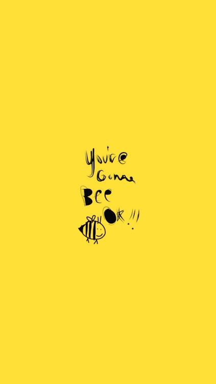 Basic Iphone Wallpaper Bee Wallpaper Tumblr