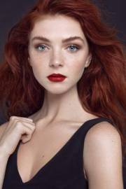 eye makeup redheads with freckles
