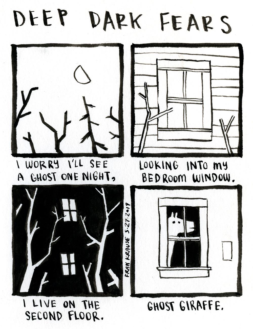 deep dark fears they