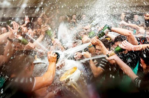 champagne shower