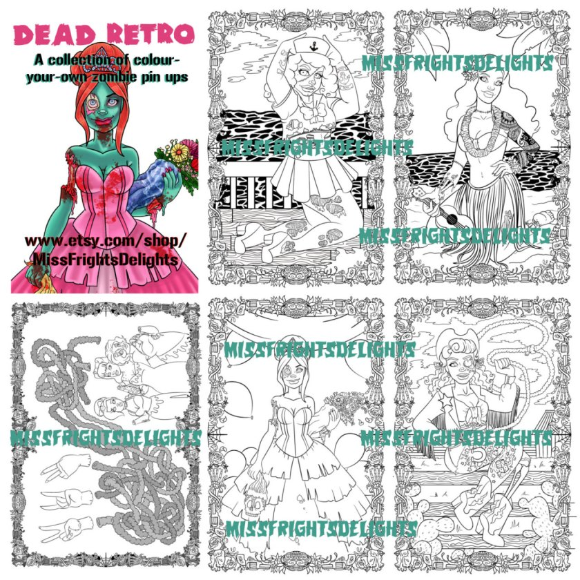 miss fright's delights sewing and craft blog — zombie pin