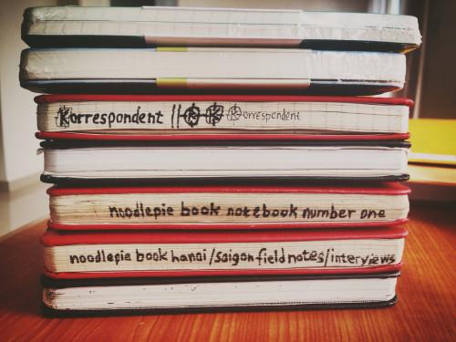 """fuckyeahnotebooks: """" notebooks (by noodlepie) """""""