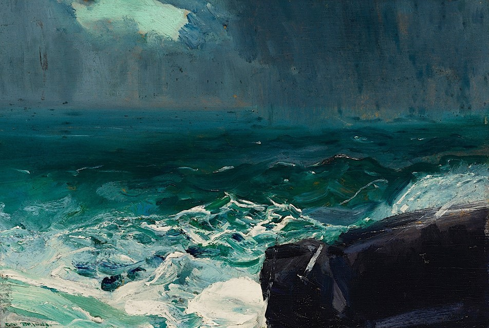 George Bellows - Approach of Rain - 1913