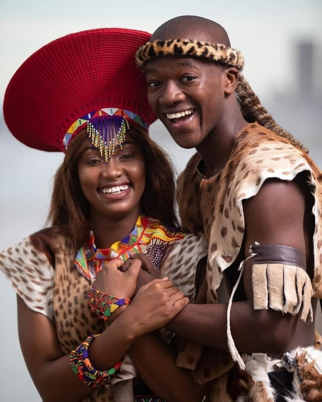 Africalinks — Beautiful Zulu Tribe couple from South Africa 😍...
