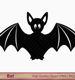 bat clipart bat clip art digital bat halloween illustration digital instant download [ 1000 x 800 Pixel ]