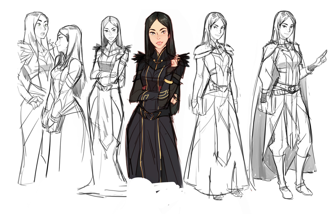 The Dragon Prince — Here are some of our early concept art