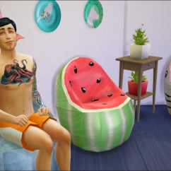 Green Bean Bag Chair Covers For Sale Cheap Cape Town D0rkysimmer, Sims 3 Converted To Ts4 I'm Not...