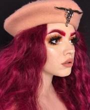 burgundy hair color