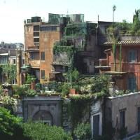 Urban Greenery  enochliew: Roof Gardens in Rome