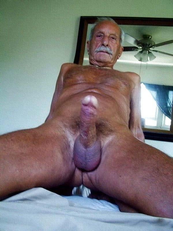 Cock grandpa big Grandpa put