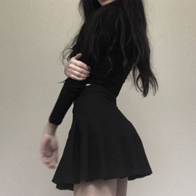 black clothing tumblr