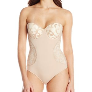 Women's Molded Cup Lace Bodysuit. Does not offer as much support as I would like but the shape…, November 01, 2019 at 04:48AM