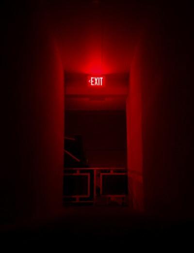 Image result for red hallway