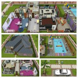 story sims freeplay designs mansion pool simple hall sfp