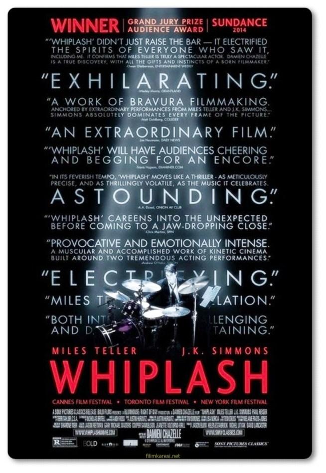 Whiplash,2014,ABD,Одержимость,Miles Teller,Paul Reiser,J.K. Simmons,Melissa Benoist,Damien Chazelle,107 Dak.