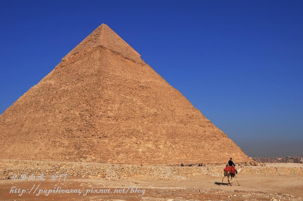 永恆的世界奇蹟-吉薩金字塔群(古夫金字塔,卡夫拉金字塔,孟卡拉金字塔) - 北雁南飛