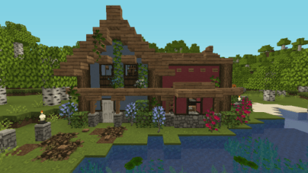 minecraft cottage builds really