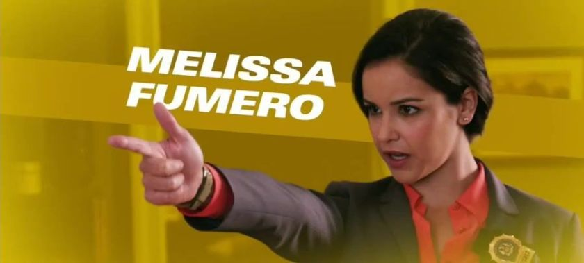 Melissa Fumero,Melissa Gallo,1982,Adriana Cramer,One Life to Live,Zoe,Gossip Girl,Amy Santiago,Brooklyn Nine-Nine,ABD,Haute & Bothered,Jo,The House That Jack Built,Lily,