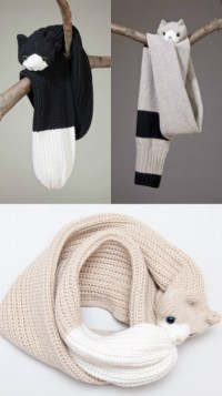 sosuperawesome: Scarves from Etsy shop...