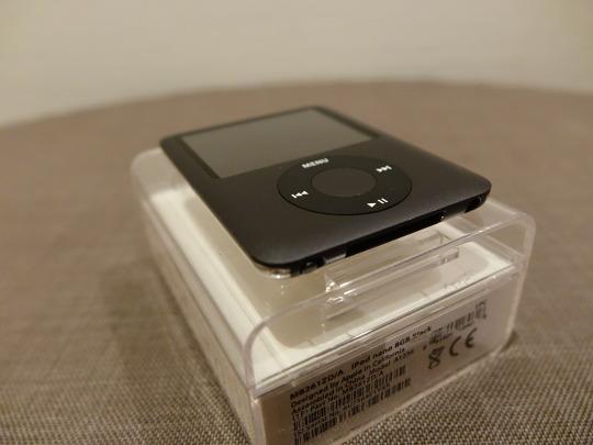 iPod Generation 3. Ein Schokoladenblock-Formfaktor. Aus meinem Computermuseum der Apple-Jahre
