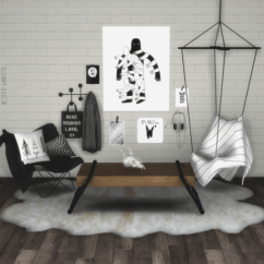 Hanging Chair The Sims 4 Hire Covers Bristol Gloomy Goblin More Mesh By Lindseyxsims Recolour