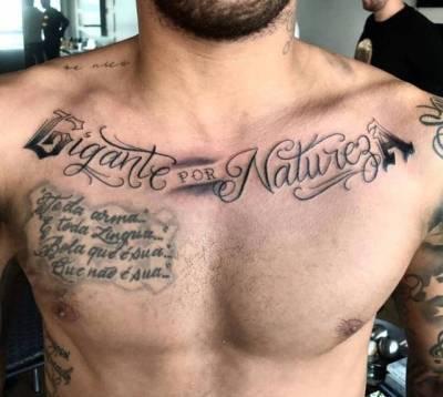Tatuajes En El Pecho Tumblr