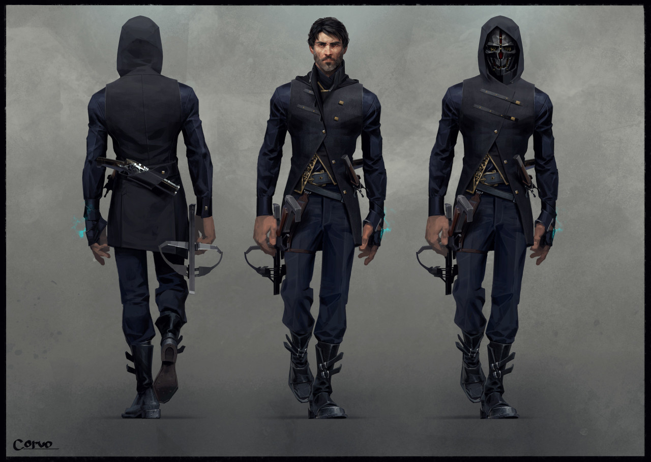pixalry dishonored 2 concept