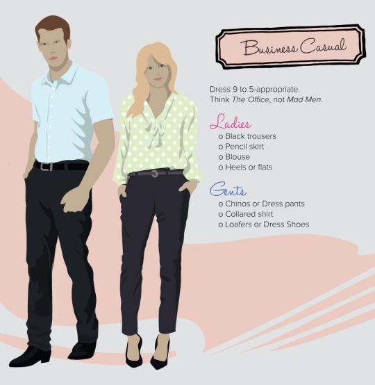 decoding dress code business casual