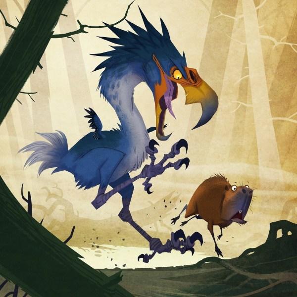 Man Creates Dinosaurs Random Prehistoric Creatures
