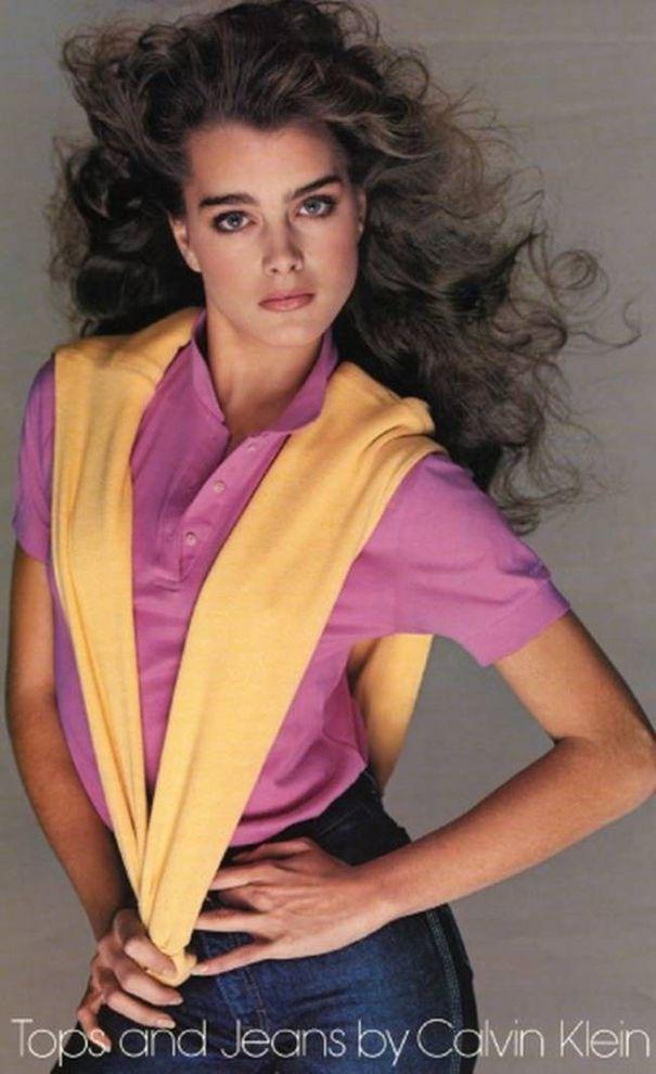 8832351b183332 Brooke Shields' 1980 Calvin Klein commercials