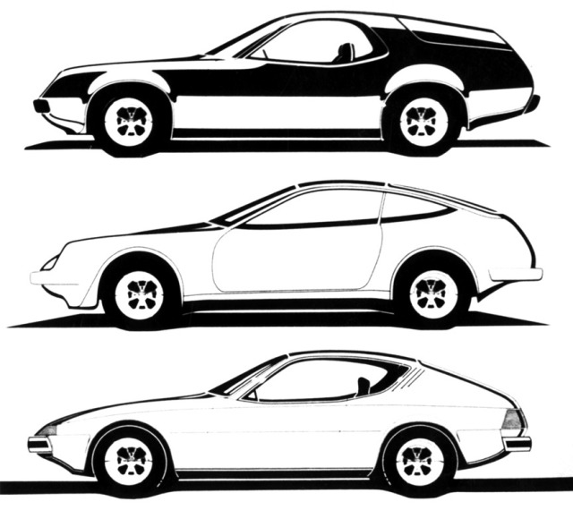 Carsthatnevermadeitetc — Project EA 425, early 1970s