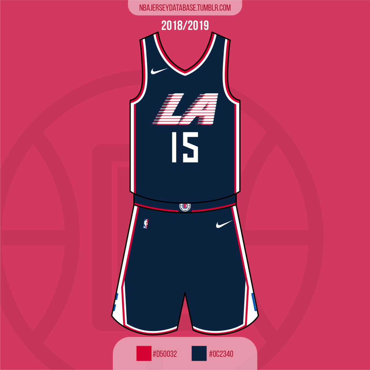 Los Angeles Clippers City Jersey 2018-2019