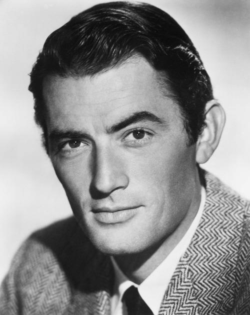 FUCKYEAHTALLMEN  Gregory Peck Height 63 Most Famous