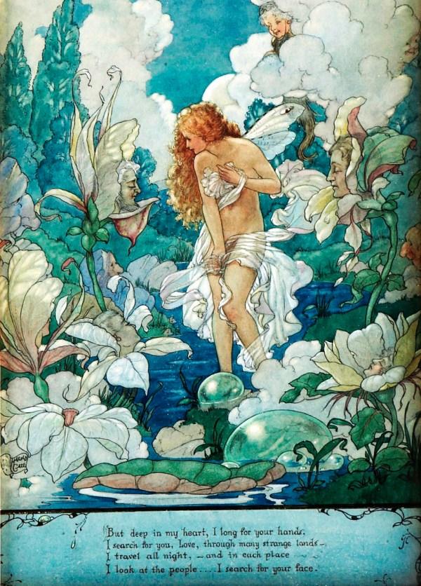 Vintage Fairy Tale Illustration Art